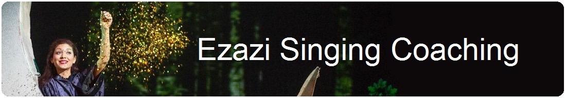 Gesangsunterricht mit Nazanin Ezazi